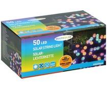 Grundig Solar snoerverlichting 50 LED's multicolor