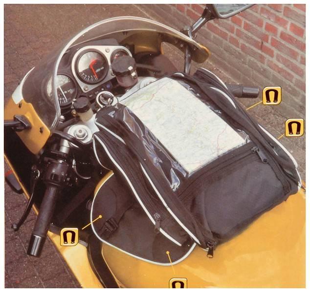 Lifetime Wheels Magnetische Motortanktas 21 liter