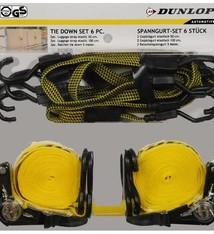 Dunlop Set van 6 spanbanden