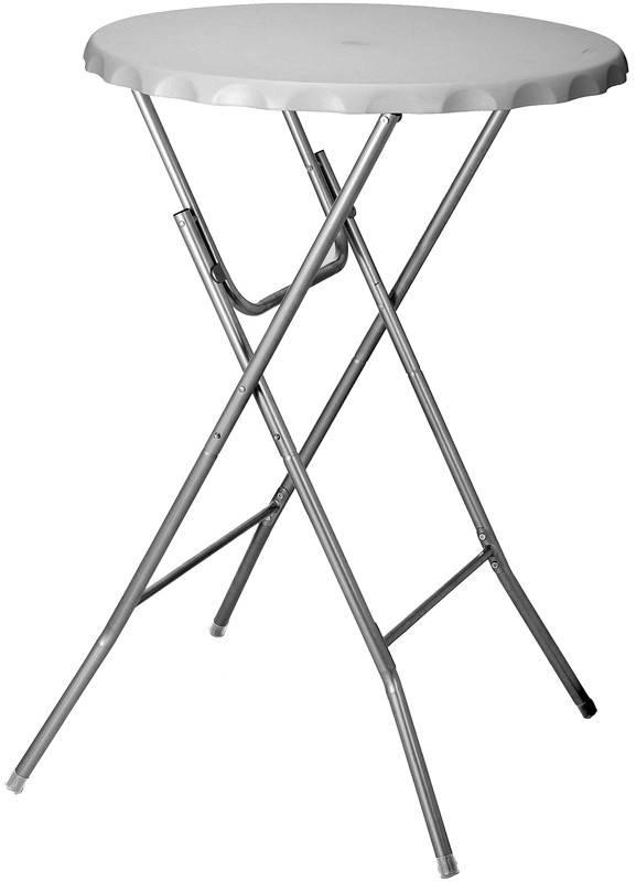 Statafel - Bartafel, inklapbaar 80cm