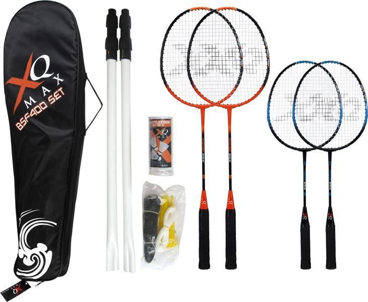 XQ Max Badmintonset voor 4 spelers