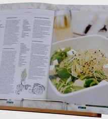 Excellent Houseware Kookboekstandaard Bamboe boek standaard
