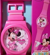 Disney Horlogeklok Minnie Mouse