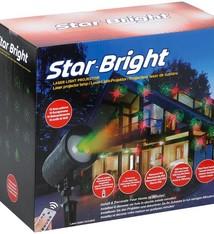 StarBright Laser Verlichting met 16 Kerstpatronen