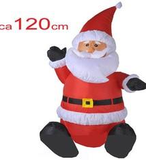 Christmas Gifts Kerstman 120cm,  opblaasbaar