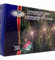Christmas gifts Kerstverlichting buiten 160 LED´s warmwit