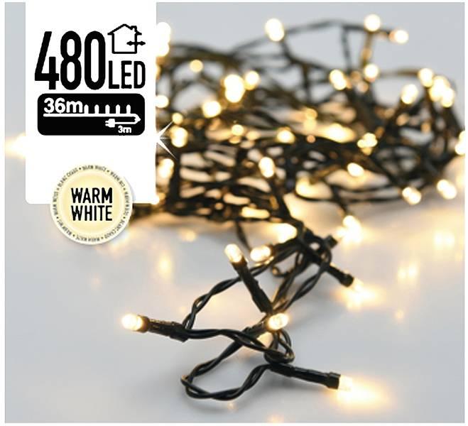 DecorativeLighting Kerstverlichting 480 LED's 36 meter warm wit