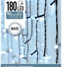 IJspegel verlichting 180 LED's 6 meter wit