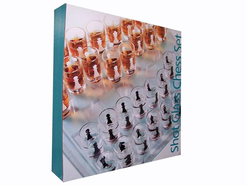 Drinking Schaakspel 35 x 35 cm