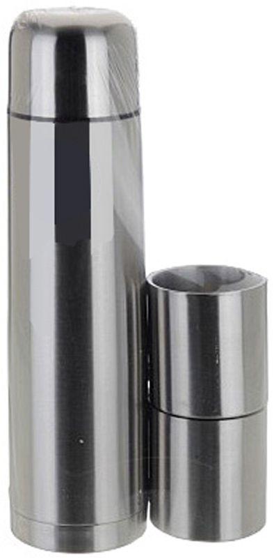 Redcliffs RVS Thermosfles 1.0 liter met 2 bekers