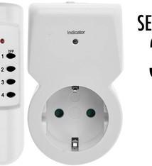 FXcontrol 3 Contactdozen met afstandsbediening