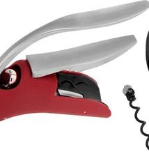 Excellent Houseware Luxe Kurkentrekker met foliesnijder rood
