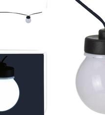 Feestverlichting 20 witte LED lampen 9.50 meter