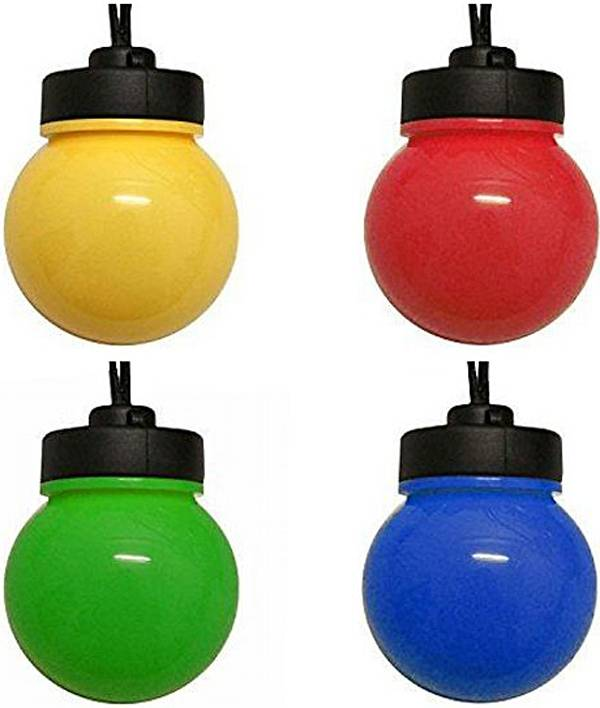 Feestverlichting 10 LED-lampen multicolor