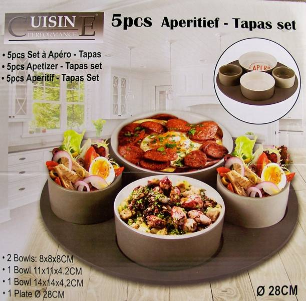 Cuisine Performance Tapasset 5 delig