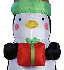 Christmas gifts Pinguin XXL 180cm met verlichting