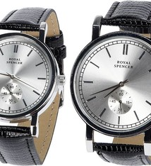 Royal Spencer Horlogeset dames + herenhorloge