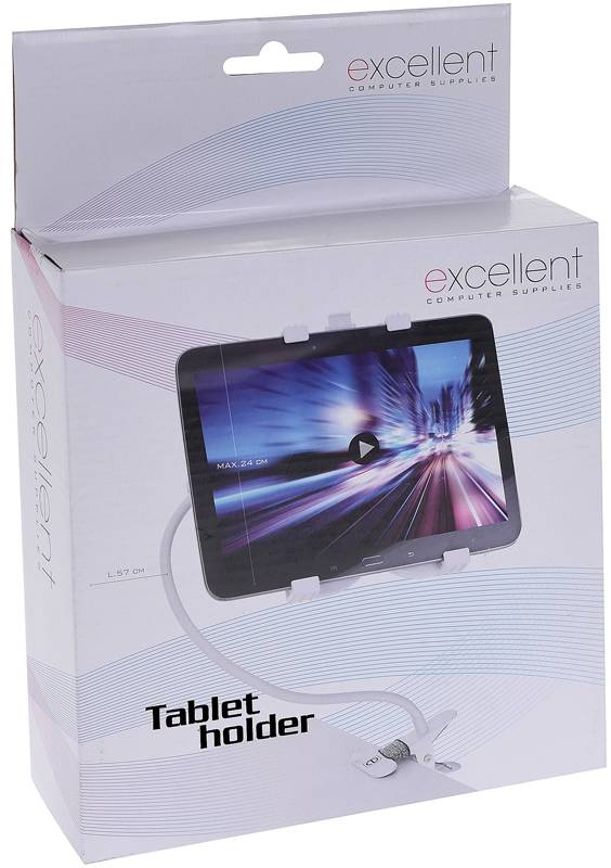 Excellent Flexibele tabletstandaard wit