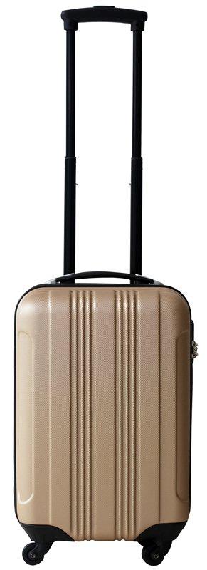 Ceruzo handbagage koffer ABS champagne
