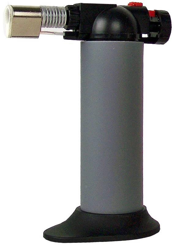Crème Brulée brander 14 cm grijs
