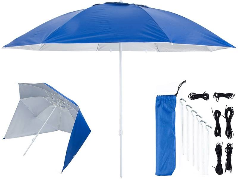 Pure2Improve UV shelter 240cm donker blauw