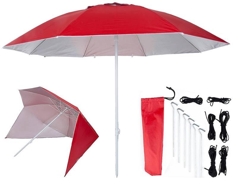 Pure2Improve UV shelter 240cm rood