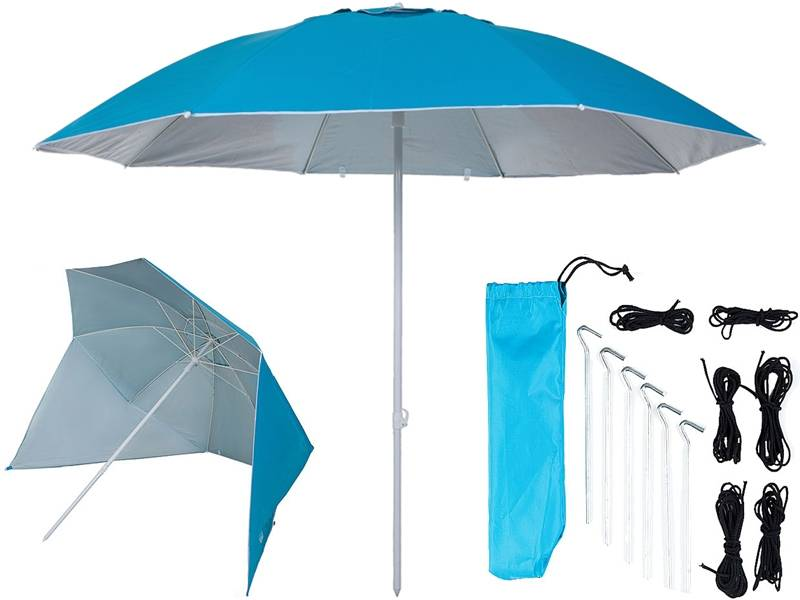 Pure2Improve UV shelter 240cm licht blauw