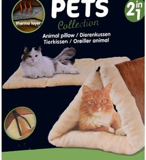 Pets Collection Kattenkussen - Kattenhuisje