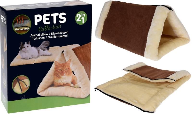 Kattenkussen - Kattenhuisje