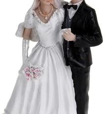 Trouwfiguur Bruidspaar 29cm