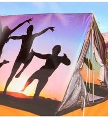 Redcliffs 3 persoons tent met print - silhouet