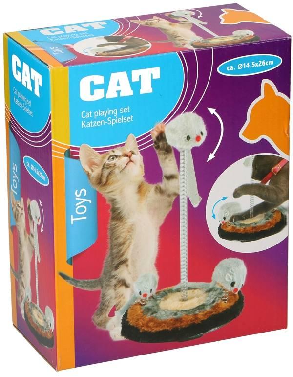 Speelset voor katten 26cm
