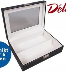 Déluxa Brillen Opbergbox voor 6 brillen