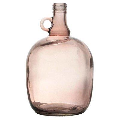 """Vaas bruin doorzichtig glas 17x27cm, """"jug 3 liter smoked brown"""""""