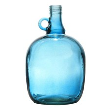 "Glasvase transparent blau 17x27cm, ""jug 3 liter smoked blue"""