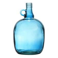 "Glasvase transparent blau 17x27cm, ""jug 3 liter smoked blue"""