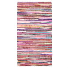 "Rug cotton multicolour 90x175cm, ""ragrug"""