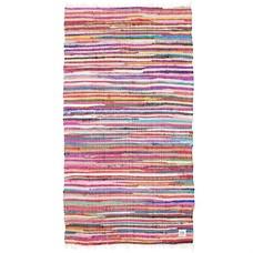 """Vloerkleed ragrug katoen multicolour 90x175cm, """"ragrug"""""""