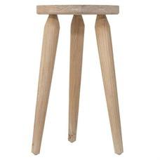 "Hocker aus Mangoholz 30x30x45cm, ""stool rustic"""