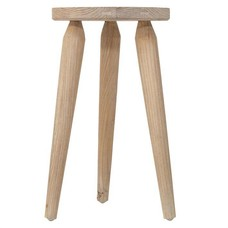 "Kruk van mangohout 30x30x45cm, ""stool rustic"""