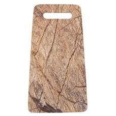 "Breadboard marble 31x18cm, ""forest marble board"""