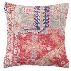 "Printed cotton cushion 45cm, ""printed cushion"""