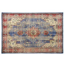 "Wool rug 280x180cm ""oriental overdyed back"""