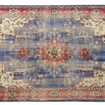 """Vloerkleed van wol 280x180cm, """"oriental overdyed rug"""""""