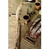 "Broodplank van marmer 31x18cm, ""forest marble board"""
