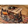 """Wollteppich 280x180cm, """"oriental overdyed rug"""""""