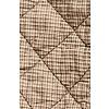 """Karierte Steppdecke aus Baumwolle für 2 Personen 200x120cm, """"chequered quilt 2 person"""""""