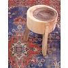 "Hocker aus Mangoholz 35x35x53cm, ""chopping stool"""
