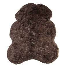 "Brown wool rug 260cm, ""(bear) skin large"""