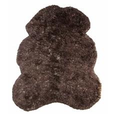 "Vloerkleed bruin wol 260cm, ""(bear) skin large"""